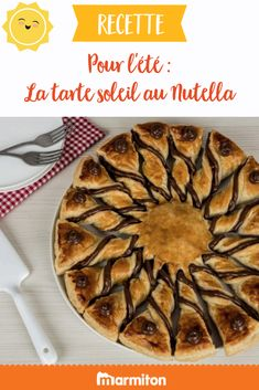 For the summer, we love this super easy and quick recipe of Nutella pie. Super simple but will make its effect on a picnic or on the family meal table! Quick Recipes, Pie Recipes, Nutella Pie, Fruit Tart, Family Meals, Super Easy, Picnic, Chocolate, Breakfast