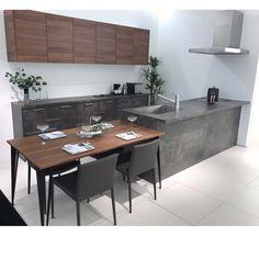 . * ° ・ 先日GRAFTEKTのショールームに行ってきました✨ . ... - #グレーキッチン #先日GRAFTEKTのショールームに行ってきました Own Home, Home Renovation, Kitchen Interior, Kitchen Storage, Dining Table, House Design, Living Room, Furniture, Home Decor