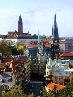 Gothenburg - Sweden pinned by Debbie www.coffeecakeandculture.com