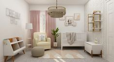 Is Your Home Ready for the New Baby? Tips for Setting Up the Perfect Nursery - Beauty and the Mist Nursery Modern, Baby Nursery Decor, Modern Nurseries, Nursery Ideas, Modular Furniture, Home Furniture, Funky Cushions, Inside A House, White Sofas