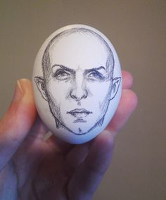 Art by Harbek - harbek.tumblr: One of my favourite Dragon Age companions: Egg.