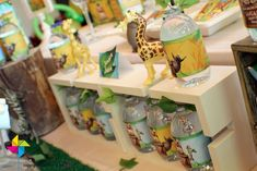 Lucas' 1st Madagascar Birthday Party | CatchMyParty.com