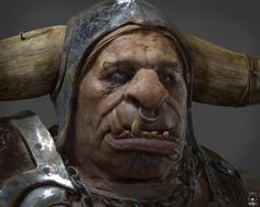 Just finished this new project. I was heavily inspired to attempt doing my version of an Orc after I saw the ILM Cinematic shots, but I wanted to try it under all the next gen limitations for a rea...