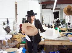 Gladys Tamez is the woman behind Lady Gaga's iconic pink Joanne hat. But that's not all. The designer has one impressive roster of clients (Beyoncé, Johnny