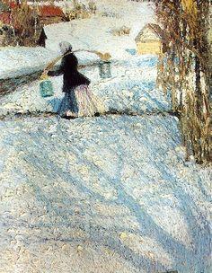 Igor Grabar - March Snow