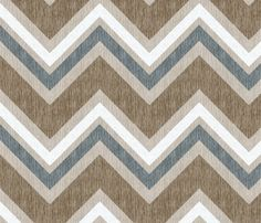 love this fabric, now where can I put it?! French Linen ZigZag Chevron fabric by kristopherk on Spoonflower - custom fabric