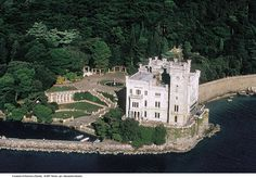 The Miramare Castle (Italian: Castello di Miramare; German: Schloß Miramar; Slovene: Grad Miramar) is a 19th century castle on the Gulf of Trieste near Trieste, northeastern Italy. It was built from 1856 to 1860 for Austrian Archduke Ferdinand Maximilian and his wife, Charlotte of Belgium, later Emperor Maximilian I and Empress Carlota of Mexico, to a design by Carl Junker.  The castle's grounds include an extensive cliff and seashore park of 22 hectares (54 acres) designed by the Archduke.