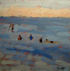 Heidi Malott Original Paintings: beach