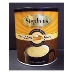 Stephen's Pumpkin Spice Hot Chocolate