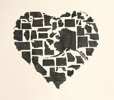 <3 then maybe have the state you live in printed a different color?