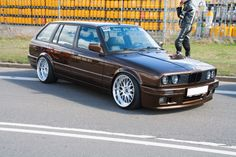 BMW E30 Touring. I'm not a big fan of BMW but this is effing adorable.