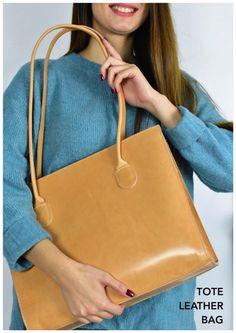 Premium Leather Tote bag, Light Brown Leather Bag, School Bag, Travel Tote bag, Shopper Bag, Rustic bag, Leather grain bag Suede Tote Bag, Tote Bags, Leather Bag, Brown Leather, Travel Tote, Shopper Bag, School Bags, Me Too Shoes, Rustic