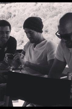 Enrique working on album:)