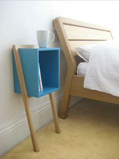 Bedside table to match our shelves