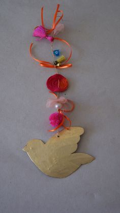 #creative  gifts# Pon-pon gifts# #bird# #bird gifts# cute gifts by Agapi Stilianoudaki