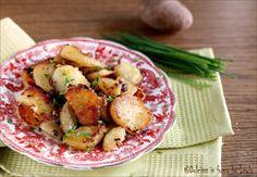"""Tutti i consigli per preparare le Patate arrostite tirolesi, le famose """"Patate saltate"""", in tedesco """"Bratkartoffeln"""" Perfetti per tutti i piatti di carne…"""