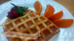 Life on Manitoulin: Mother's Day Brunch Made By Hubby w/ Portions {Giveaway} Bacon Waffles, Mothers Day Brunch, Maple Bacon, Grocery Store, Coupons, Giveaway, Breakfast, Free, Morning Coffee