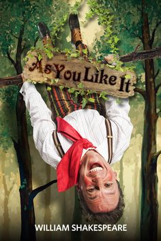 AS YOU LIKE IT (2012): Peter Frechette as Touchstone.  Photo by Jenny Graham.