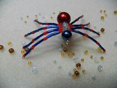 Red & blue spider