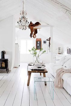 Home Decor – Living Room : A BEAUTIFUL FARMHOUSE IN DALARNA, SWEDEN -Read More –