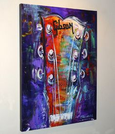 Canvas Print from my Original Painting by NYoriginalpaintings, $130.00