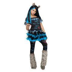 Girls' Wicked Wolf Costume
