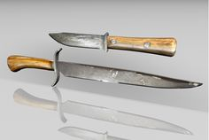 3D old west knives weapon models in FBX 3D model format that works with most 3D modeling software.