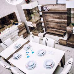 Alissa yemek odası takımı Berke Mobilya