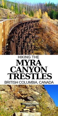 Hiking the Myra Canyon trestles is a must do experience while in the Kelowna area! Here's more about our hiking experience + everything you need to know about hiking the Myra Canyon Trestles in the Okanagan Valley, British Columbia British Columbia, Columbia Travel, Canada Winter, Canada Canada, Winter Snow, Visit Canada, Newfoundland Island, Places To Travel, Places To See