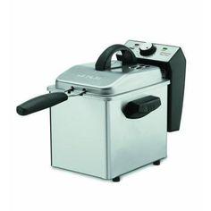 Waring Waring Pro DF55 Deep Fryer - 2 quart Oil / 1.30 lb Food - Brushed Stainless Steel