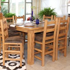 Create a rustic-feel in your dining area! #rustic #dining