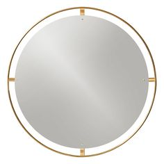 Menu Nimbus mirror, polished brass