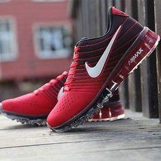 Nike Air Max 2017 Kırmızı Siyah Renk Spor Ayakkabı
