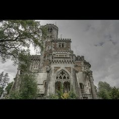 Abandoned mansion in northern Portugal. by rvanhegelsom, via Flickr