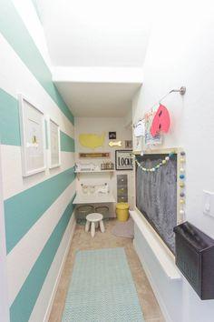 Fresh Chicks Studio: Under Stairs Homework Closet.