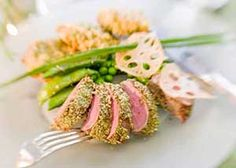 California Wedding Day magazine | crusted lamb, LA catering Good Gracious! Events