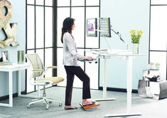 The standing desk may be the answer to your back pain and fatigue at work. Read these health living tips.