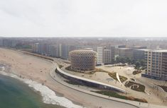 """Gallery of ZJA Unveils """"Dune Landscape"""" and New Landmark for the Belgian Coast - 1"""