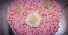 Τούρτα Γενεθλίων Φράουλα - Strawberry Birthday Cake