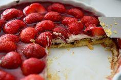Det Mælkefri Køkken: Jordbærtærte – glutenfri og mælkefri