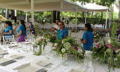 Cumplimos 10 años formando profesionales en Diseño Floral.  Examen Final julio 2013