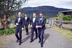 35mm Wedding Photography - Samantha + Richard - grooms party inspo - black…