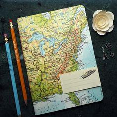 Reise-Geschenk REISETAGEBUCH USA New York Boston Miami