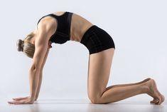 yoga pose for stress