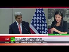 Another devastating leak from the US State Department was the audio conversation between Sec. John Kerry and Syrian opposition groups illustrating that while Kerry was negotiating with Russian FM Lavrov for a Syrian ceasefire, Kerry was actually for military intervention all along, using the false flag chemical attack as the basis.  Tectonic Shifts in the Middle East Due to US State Department's Warmongering