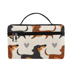 Dachshund Cosmetic Bag