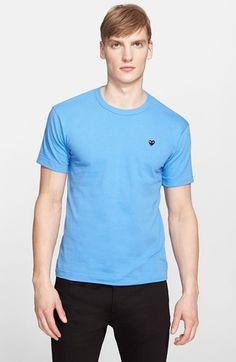 COMME DES GARÇONS 'Black Emblem' Cotton Jersey T-Shirt. #commedesgarçons #cloth #