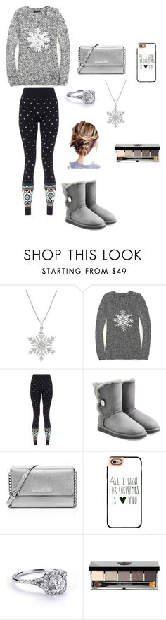 """I want winter⛄"" by agdancer10 ❤ liked on Polyvore featuring Tommy Hilfiger, Sweaty Betty, UGG Australia, MICHAEL Michael Kors, Casetify and Bobbi Brown Cosmetics"