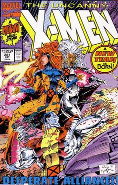 The Uncanny X-Men 281 Cover Jean Grey and Storm Archie Comics, Marvel Comics, Marvel Comic Books, Comic Book Heroes, Marvel Heroes, Comic Books Art, Marvel Avengers, Book Art, Dc Universe