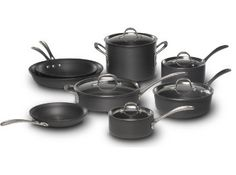 On my wish list is a very nice set of cookware. Wishing I could find one that is dishwasher safe, though. This one is Calphalon.